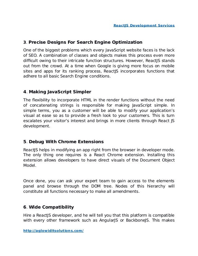 React js development services   importance of reactjs development for…