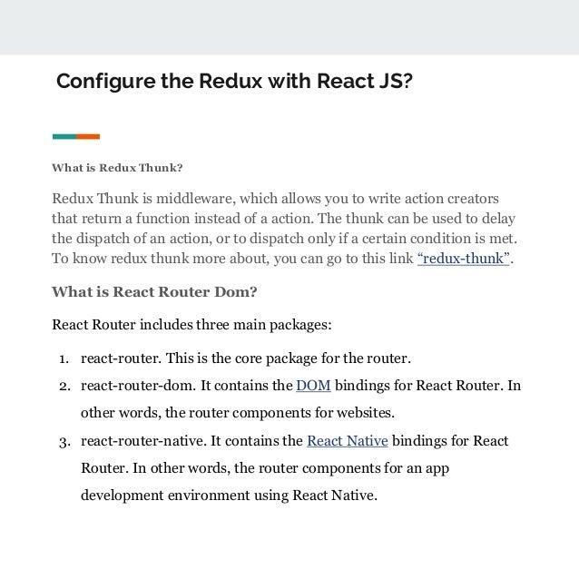 React js programming concept