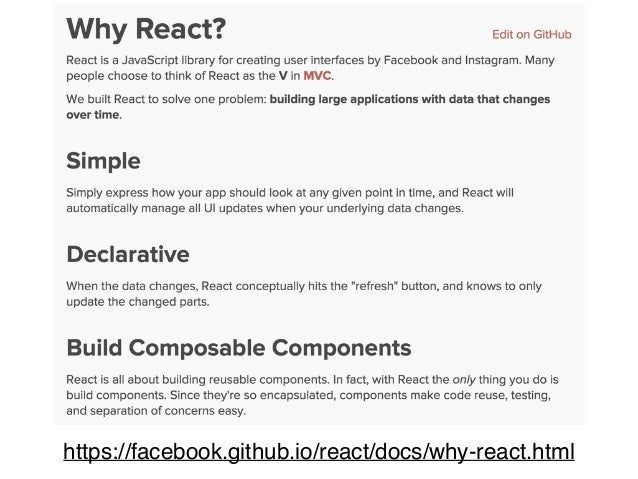 발렌타인 웨비너 7회 - React를 이용한 웹 앱 개발 살펴보기 Slide 2
