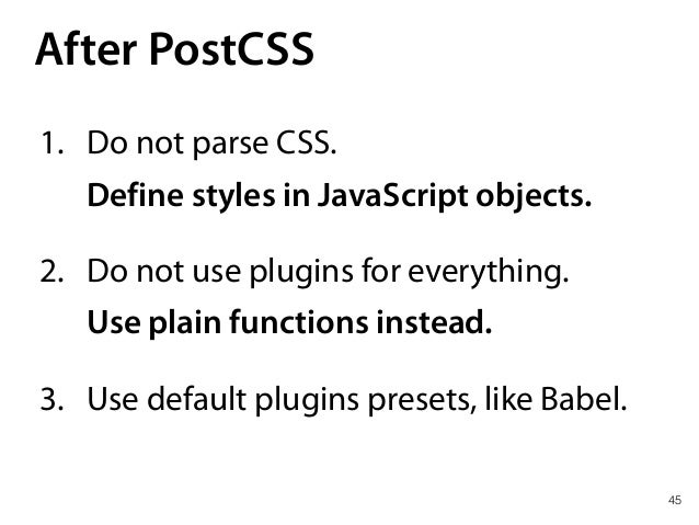 —Seriously? CSS in JS?!