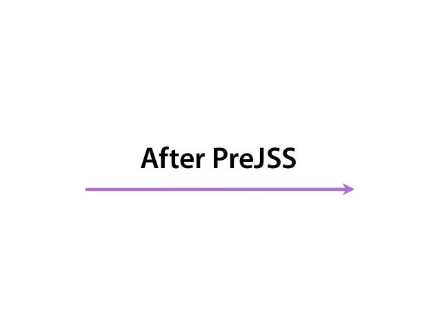 PreJSS Architecture 1. Styles Declaration 2. CSS Parser * 3. PreJSS Adapter * Styles Declarations PreJSS Adapter Any CSS-i...