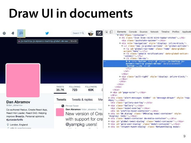 9 Draw UI in documents