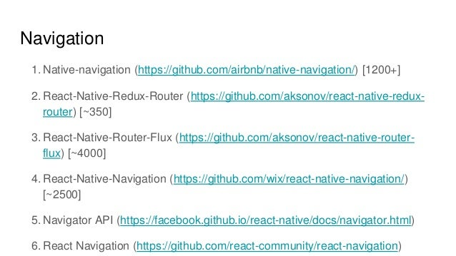 Academy PRO: React native - navigation