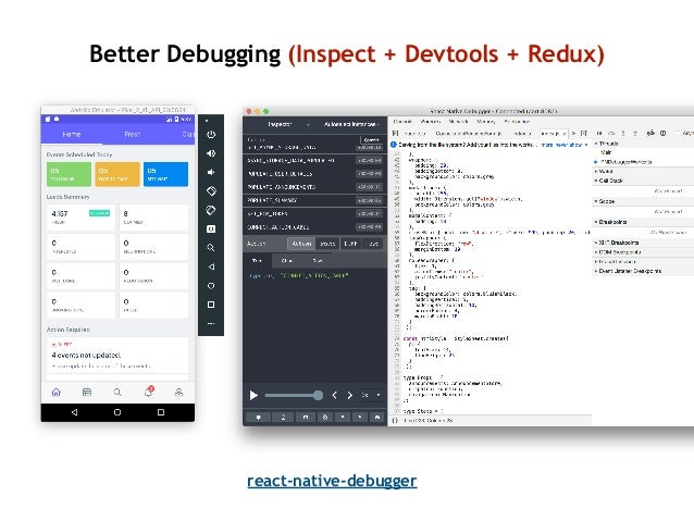 •Use default debugger unless it isn't useful. It's fast •Turn off network monitoring if you don't need it