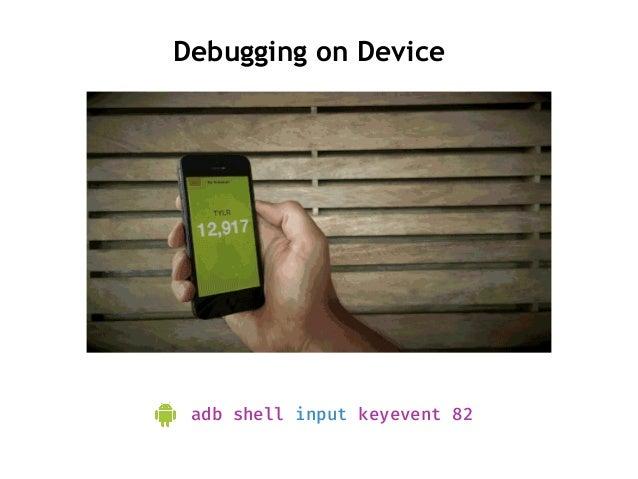 Dev Mode Tap multiple times to enable dev mode