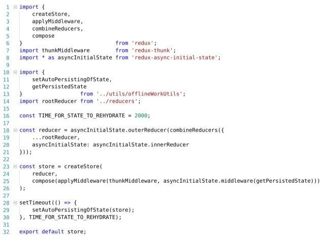 Event handler initialization in app.js