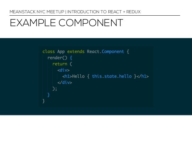 React + Redux for Web Developers