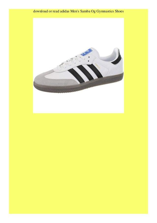 Read book adidas Men's Samba Og Gymnastics Shoes TRIAL EBOOK