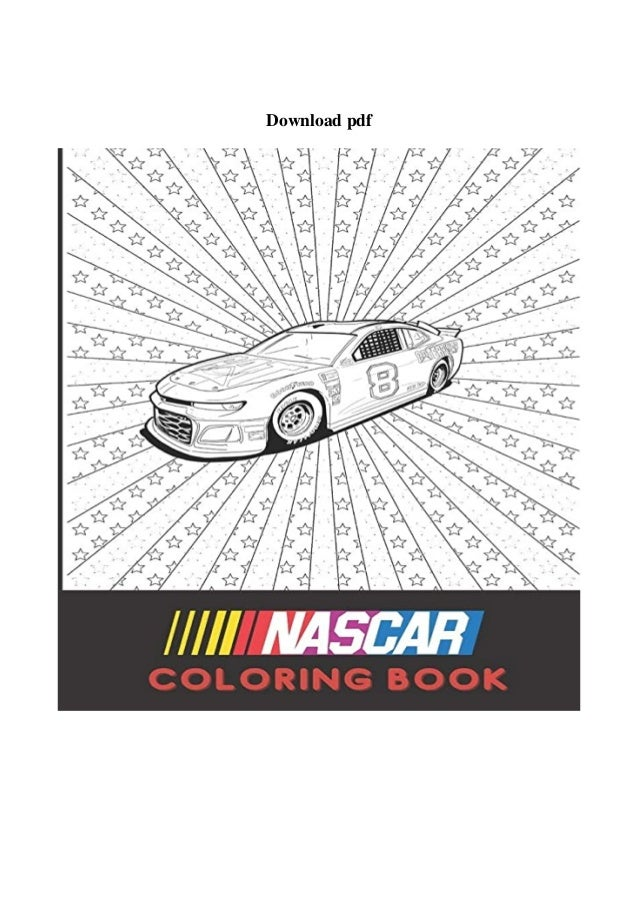 Read Book Nascar Coloring Book 30 Best Unique Nascar Coloring Pages