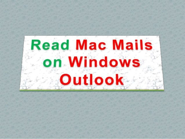 how to use outlook on mac mail