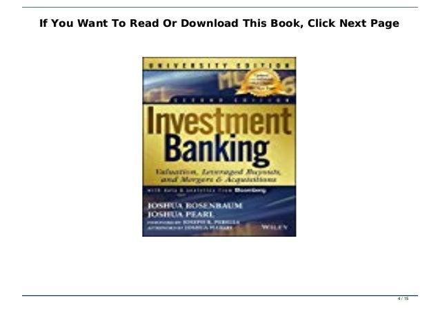 Wiley finance investment banking pdf to jpg pips forex training