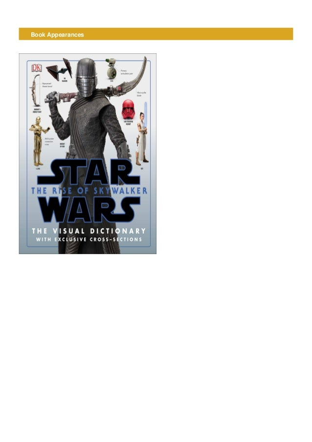 Read Pdf Epub Ebook Book Star Wars The Rise Of Skywalker