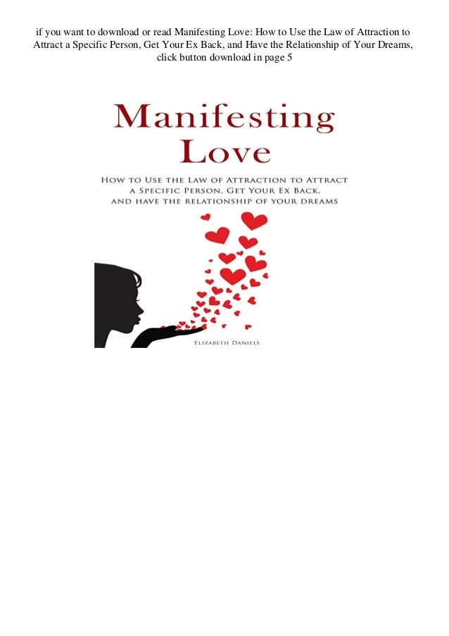 With specific love manifesting person a Instantly Manifest
