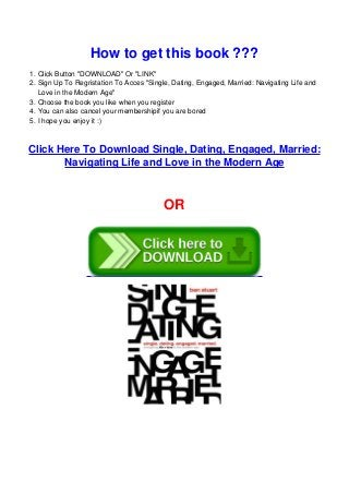 Engaged single pdf dating married book Single, Dating,
