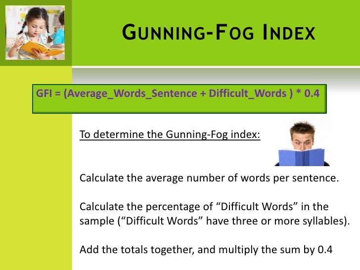 Online reading age calculator.