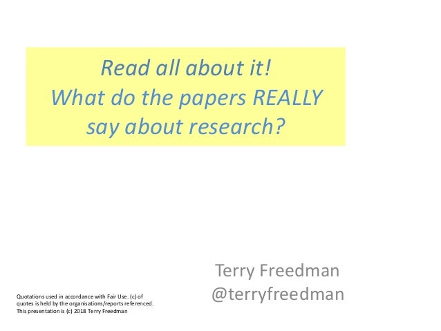 Terry Freedman @terryfreedmanQuotations used in accordance with Fair Use. (c) of quotes is held by the organisations/repor...