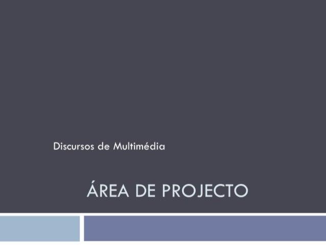 Área de projecto negativos