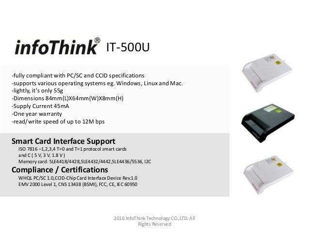Infothink- Smart Card Reader