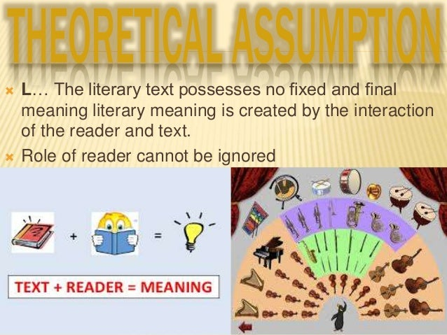 contribution of reader response theory in The critical classic, the act of reading, which contributed to the making of reader- response theories as a cornerstone in the field of literary theory, and to.