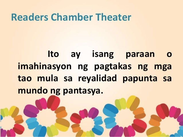 Readers Chamber Theater ppt