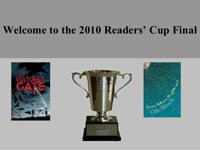 Welcome to the 2010 Readers' Cup Final