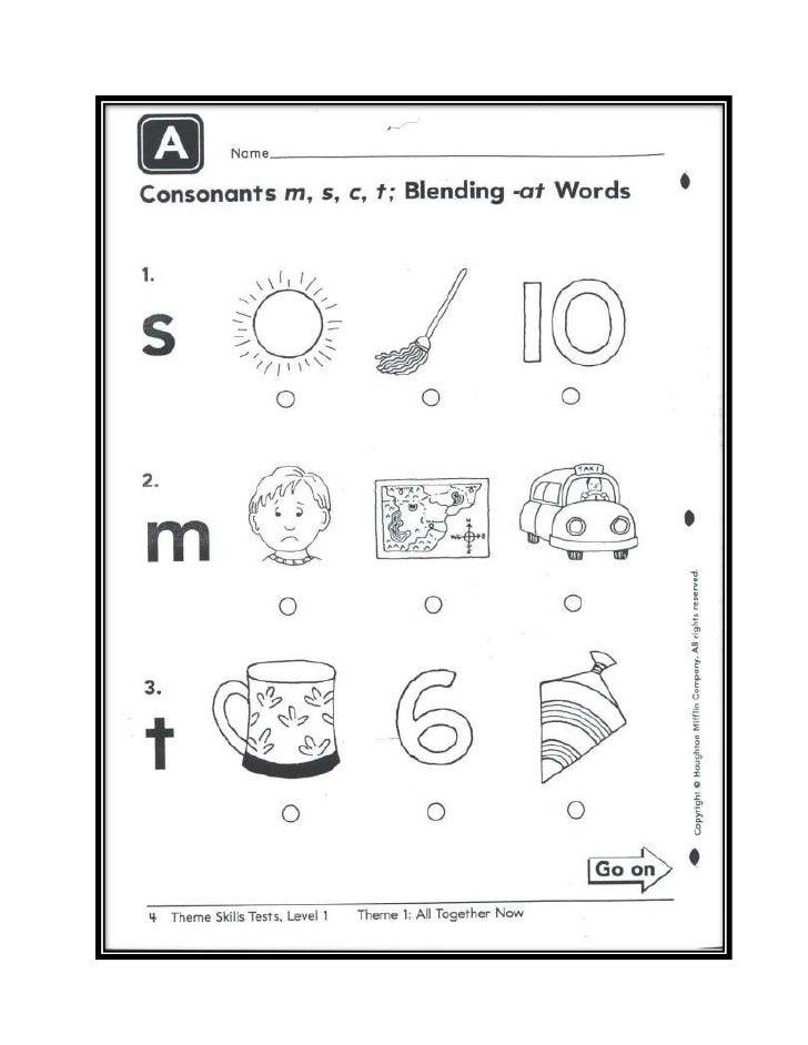 Reading Phonetic Test 1st Grade