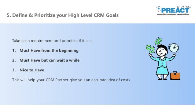 Readiness for CRM - 11 Steps to Plan & Prepare for CRM