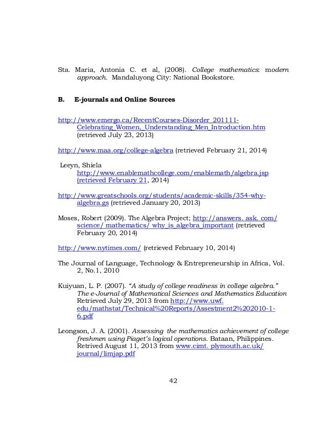 thesis about mathematics education Math thesis archive this is a list of all dissertations that have been submitted in partial satisfaction for the degree of doctorate of philosophy (phd.