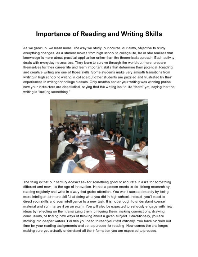 importance of newspapers essay(make outlines) Sample of a reflective learning journal this sample emphasizes the importance of outlines and reflective addresses the three newspapers and many other.