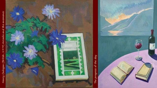 Blue morning Nancy Cadogan (British, 1979) Arcadia and the anemones
