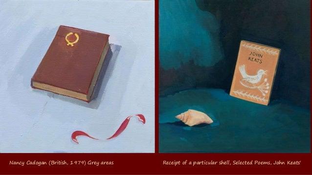 Nancy Cadogan (British, 1979) Tea and Tennyson Small is beautiful