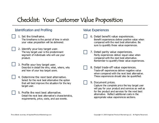 marriott customer value proposition A customer value proposition is a promise of potential value that a business delivers to its customers and in essence is the reason why a customer would choose to.