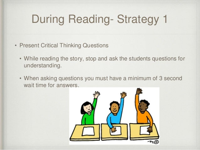 critical thinking strategies for reading Critical thinking with a focus on logic and inference  documents similar to critical thinking reading comprehension worksheets  5th grade basic skills- reading.