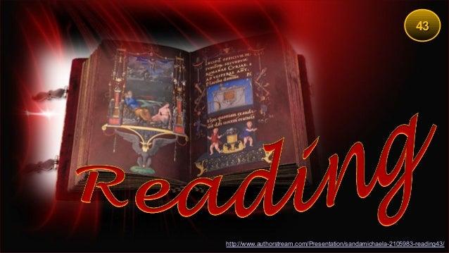 4343 http://www.authorstream.com/Presentation/sandamichaela-2105983-reading43/