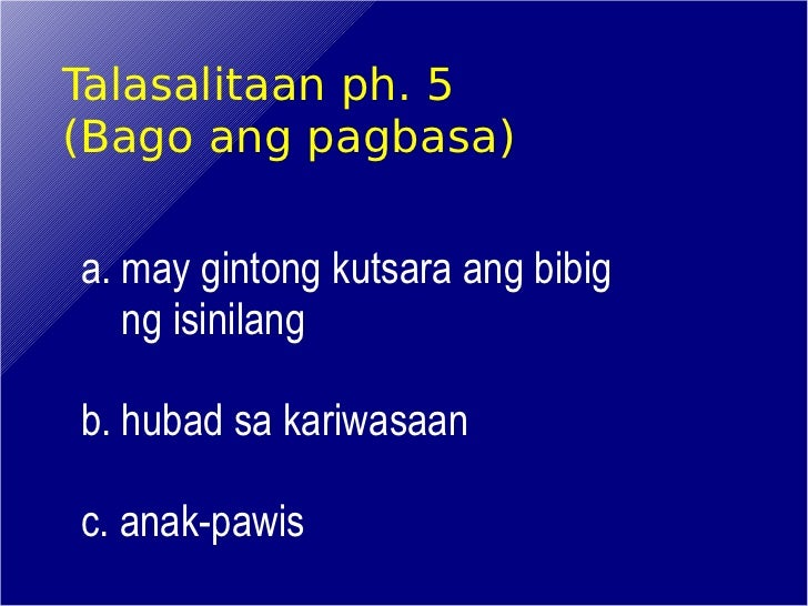 pagbasa at pagsulat Get textbooks on google play rent and save from the world's largest ebookstore read, highlight, and take notes, across web, tablet, and phone.