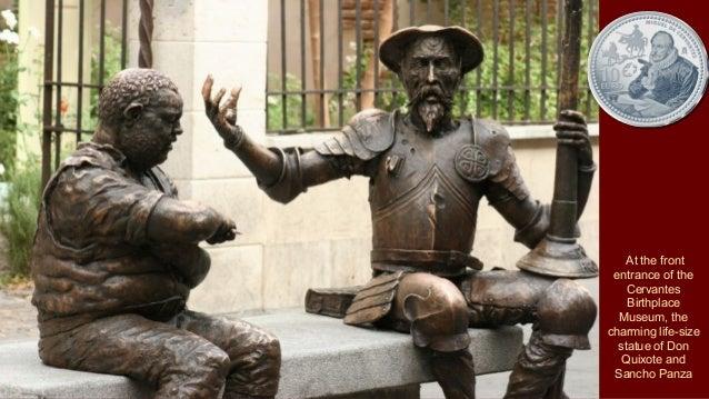 Statue of Don Quixote and Sancho Panza by Peter Requejo Novoa, 2005