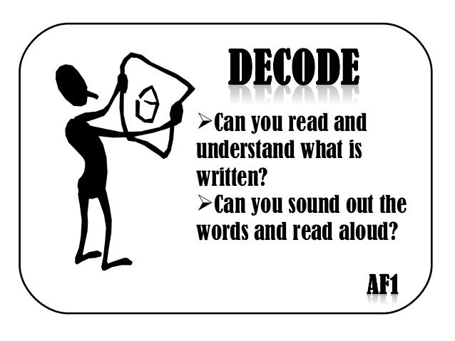 Can you read and understand what is written? Can you sound out the words and read aloud?