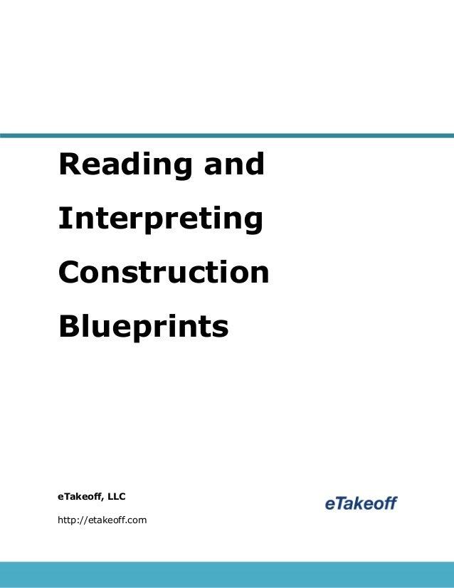 Reading and interpreting construction blueprints reading and interpreting construction blueprints etakeoff llc httpetakeoff malvernweather Gallery