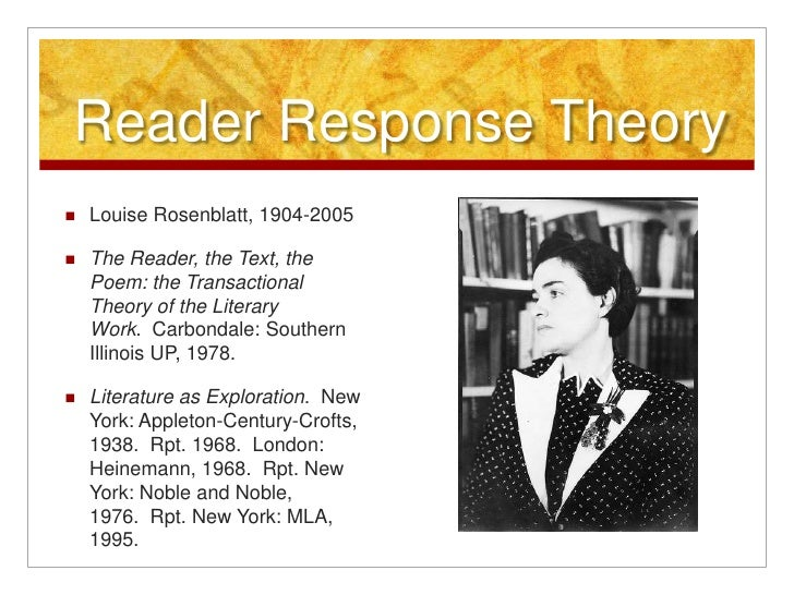 rosenblatt the reader the text the poem pdf