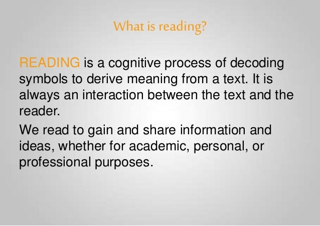 READING AND WRITING SKILLS] Text as a Discourse - Introduction