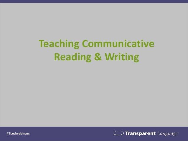 Communicative language teaching essay