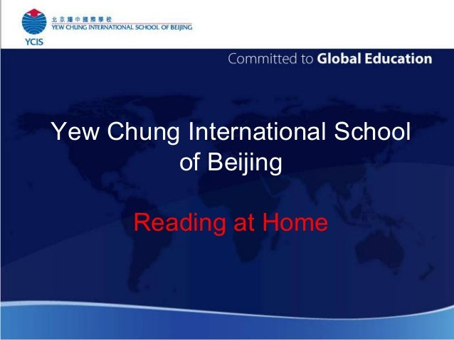 Yew Chung International School of Beijing Reading at Home