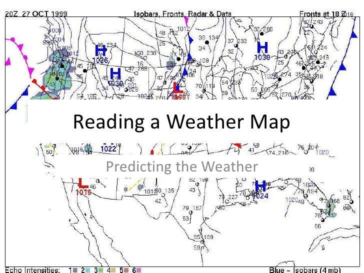 reading a weather map. Black Bedroom Furniture Sets. Home Design Ideas