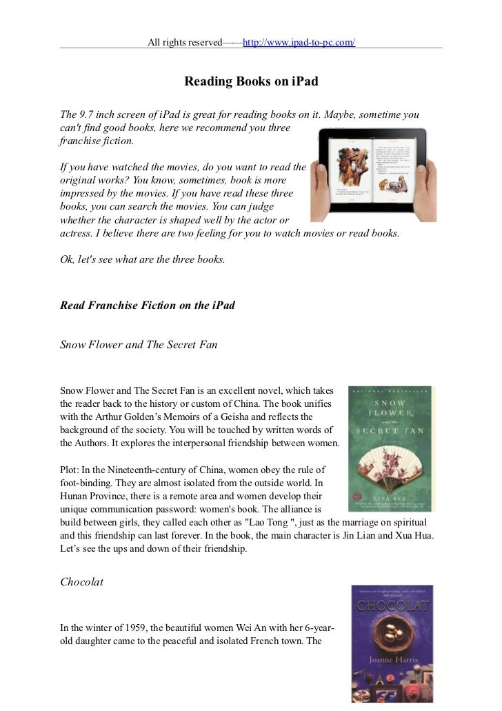 how to start reading on your ipad