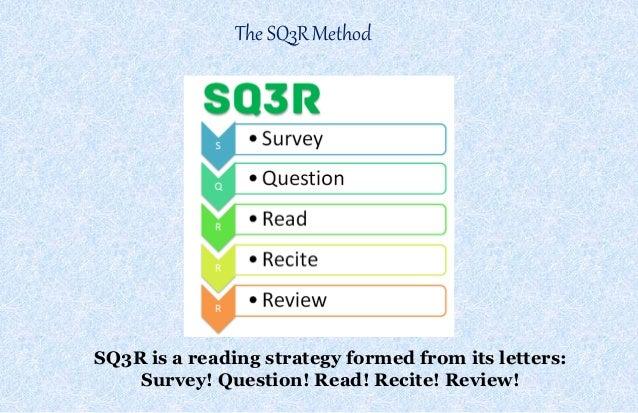Sq3R Technique of Reading