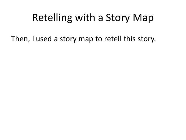 Retelling with a Story Map Then, I used a story map to retell this story.