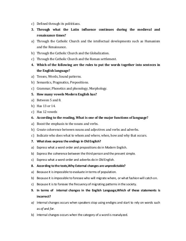 Printables English Compherishion reading comprehension test the english language 2