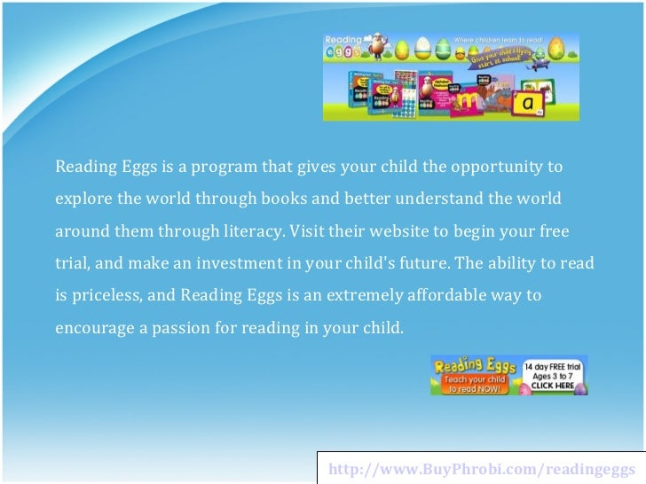 Reading Eggs Child Reading Program Rated One Of The Best