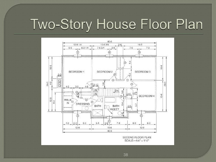 Reading House Plans For Dummies House Plans