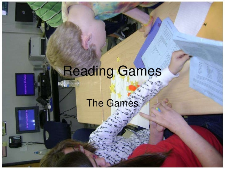 Reading Games     The Games